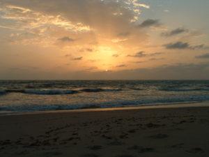 Sunrise in Gambia