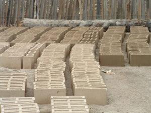 Blocks curing